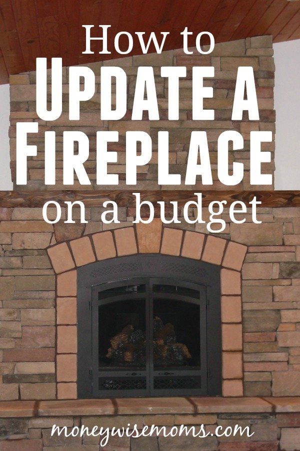 How to update a fireplace on a budget