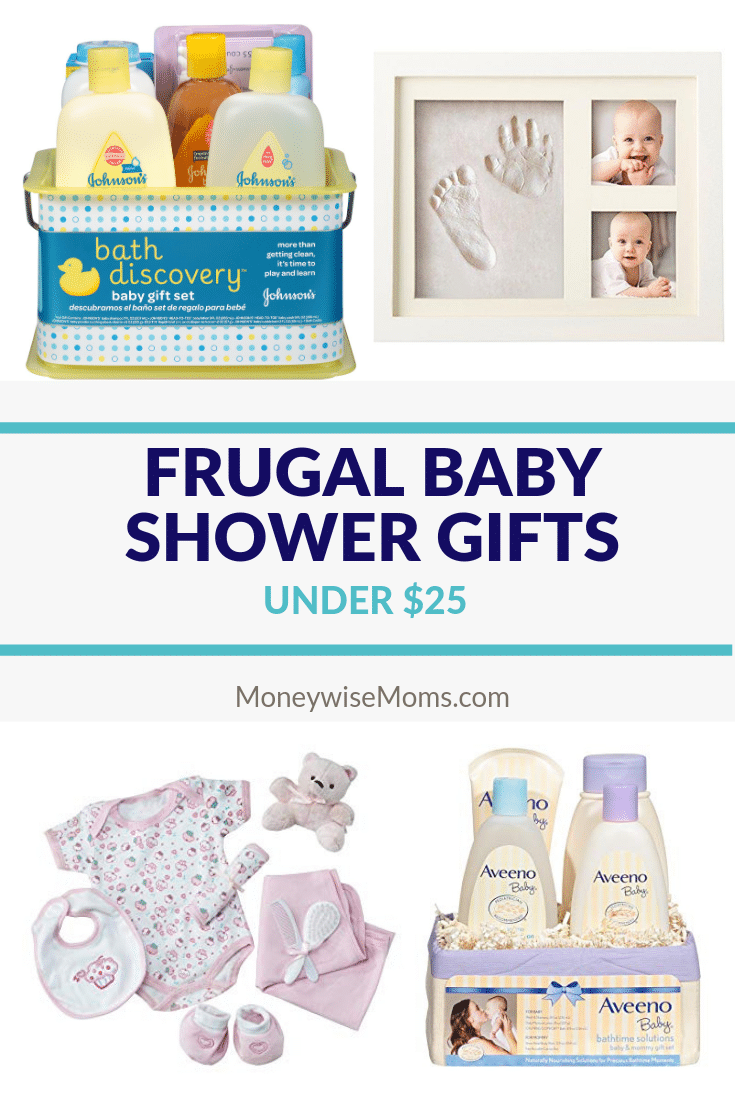 FInd baby shower gifts for less than 25 dollars