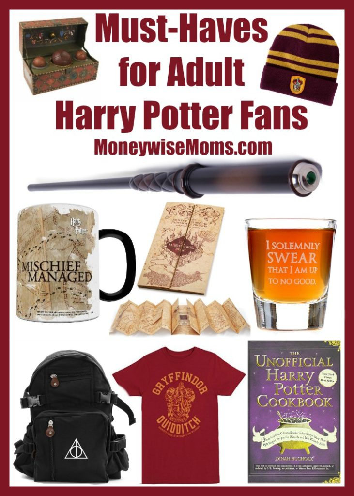 Must Haves for Adult Harry Potter Fans
