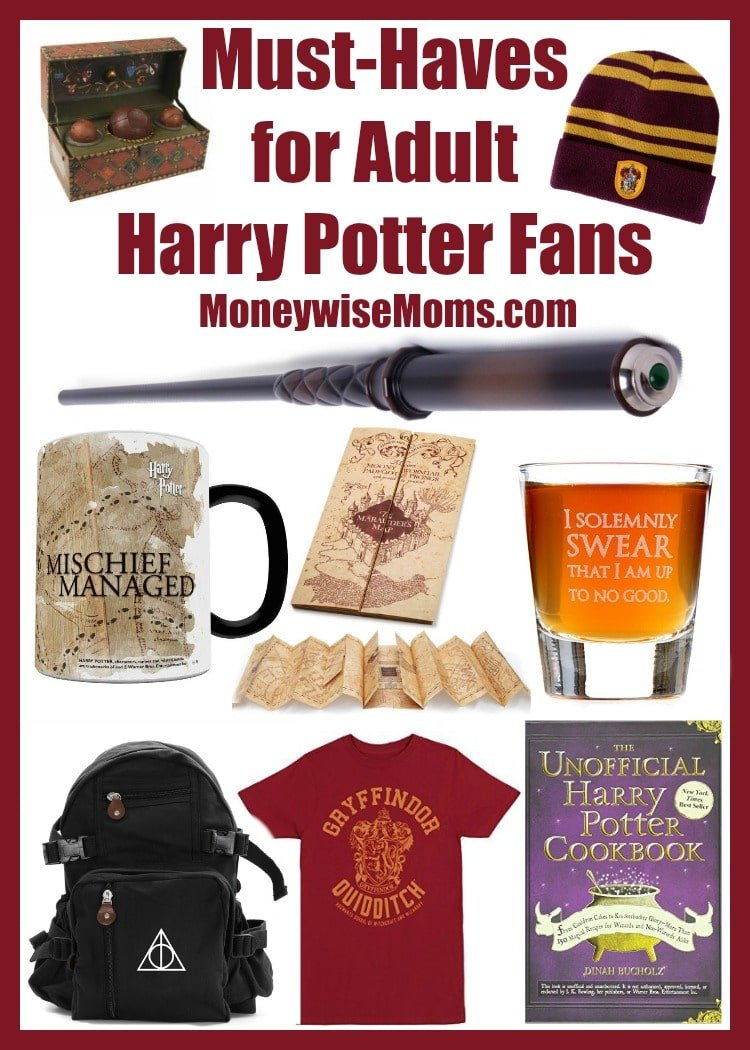 Must-Haves for Adult Harry Potter Fans