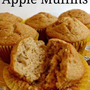 Homemade Apple Muffins - easy recipe