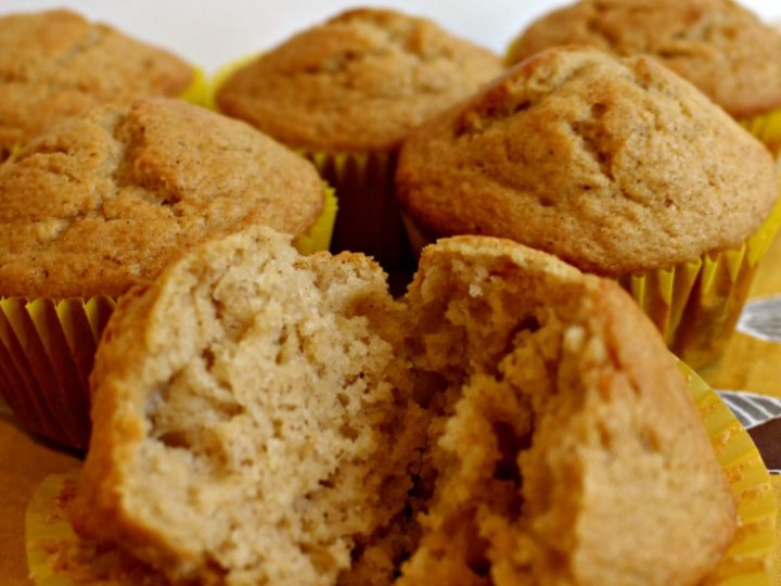Homemade Apple Muffins - easy recipe