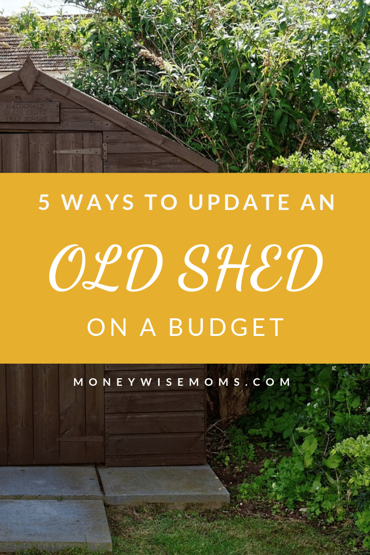 Ways to update an old shed