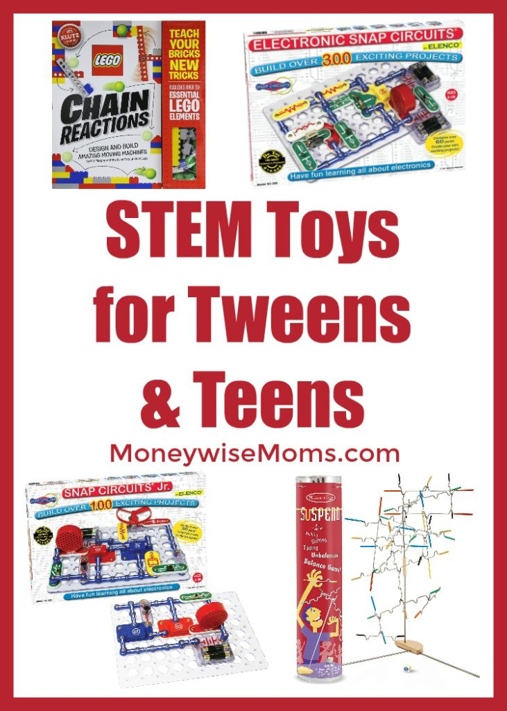STEM Toys for Tweens and Teens - great holiday gift ideas