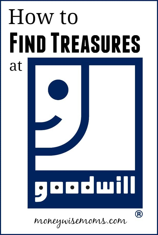 How to find treasures at Goodwill - thrift store shopping