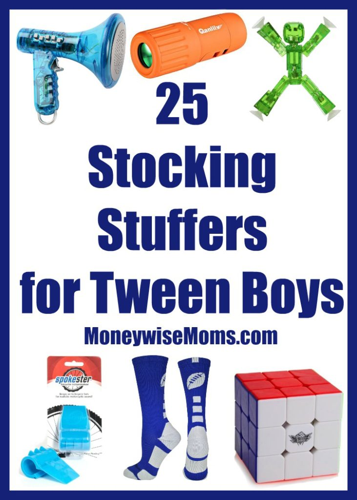 Stocking Stuffers for Tween Boys