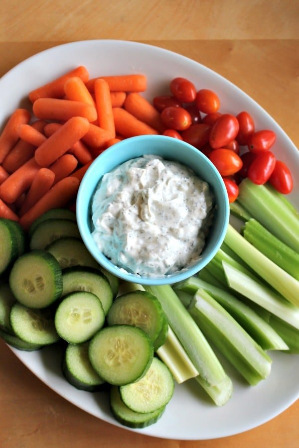 Homemade Ranch Dip at It Is a Keeper