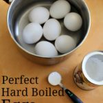 Perfect Hard Boiled Eggs {Tasty Tuesdays}
