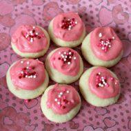 Valentine Raspberry Meltaways {Tasty Tuesdays}
