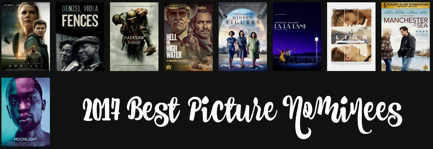 2017 Best Picture Nominees