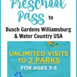 How to Get a Free Busch Gardens Preschool Pass 2019