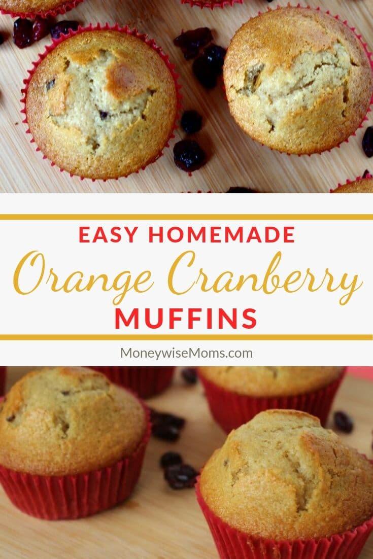 Delicious Orange Cranberry Muffin recipe