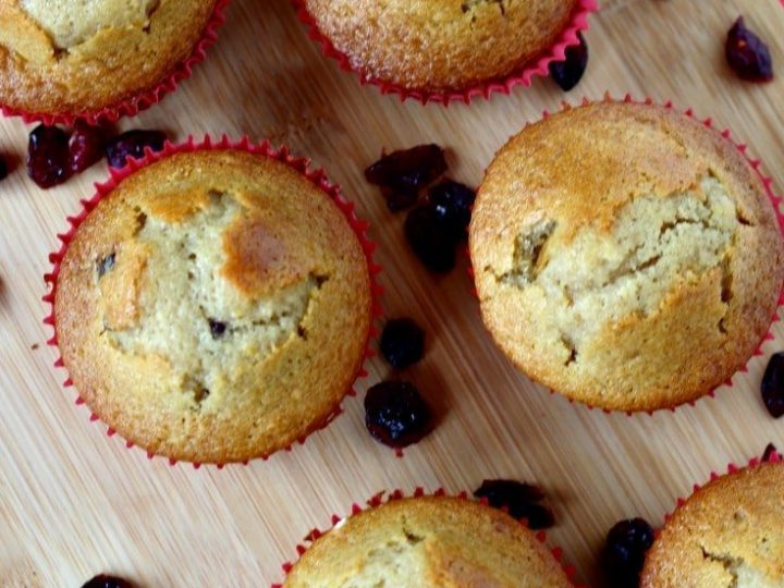 Orange Cranberry Muffins - easy recipe using dried cranberries - full of flavor!