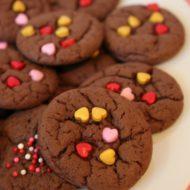 Valentine Cake Mix Cookies {Tasty Tuesdays}