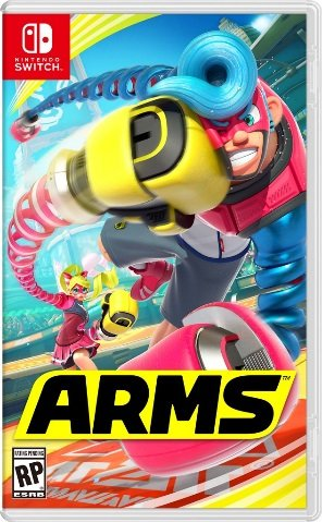 ARMS Nintendo Switch - new game console for tweens and teens