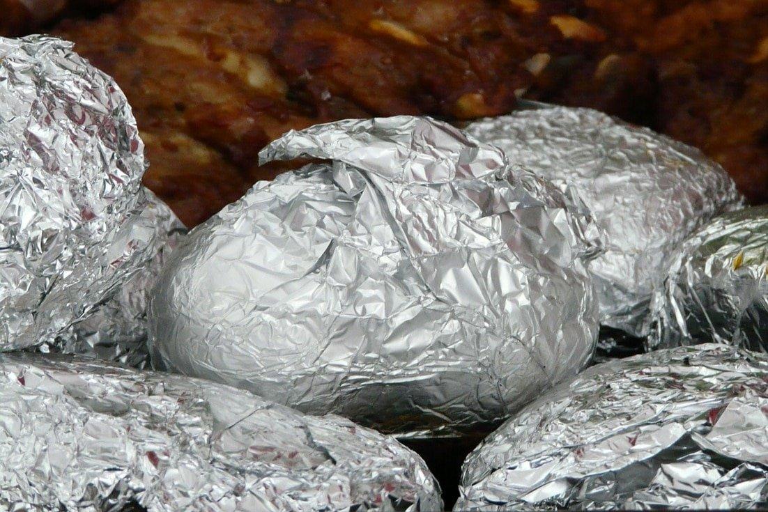 Potluck Ideas - Baked Potato Bar
