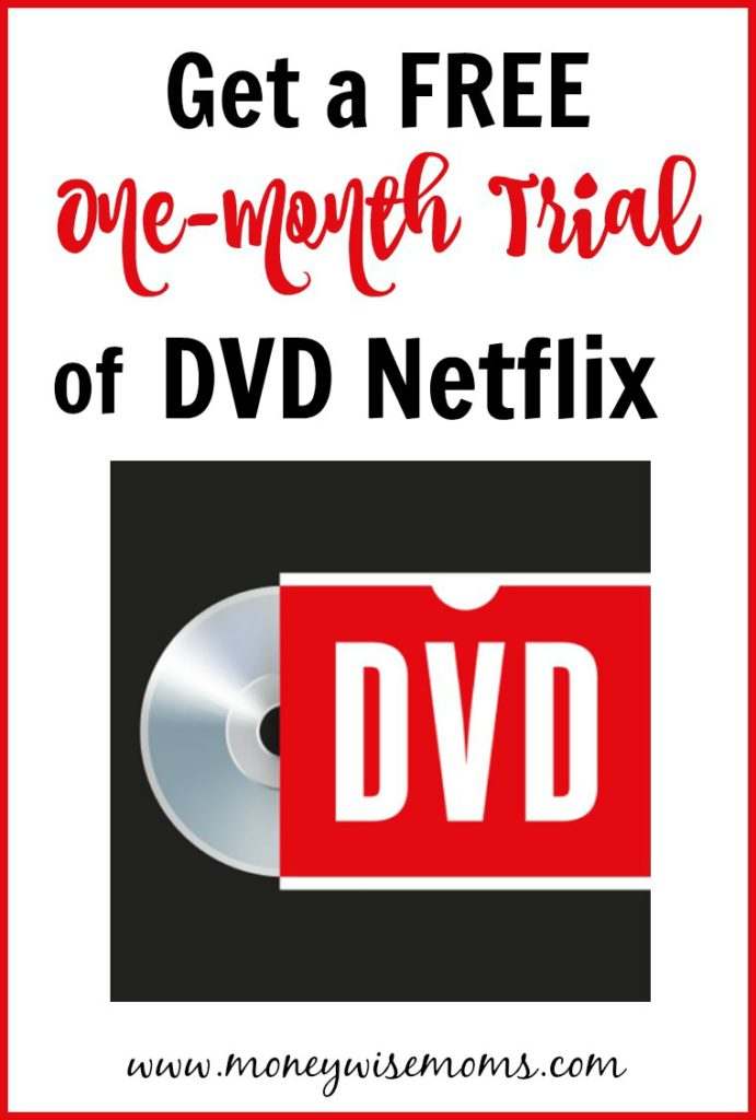 Free one month trial of DVDNetflix.com - great for family movie night!