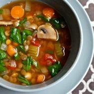 Easy Lentil Vegetable Soup