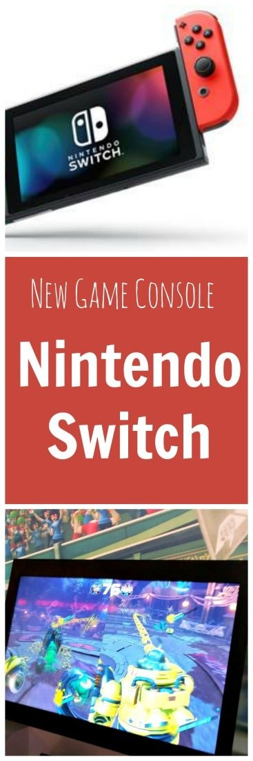 The Nintendo Switch is a new family game console that combines a home dock with a portable handheld. Fun family gaming on the go!