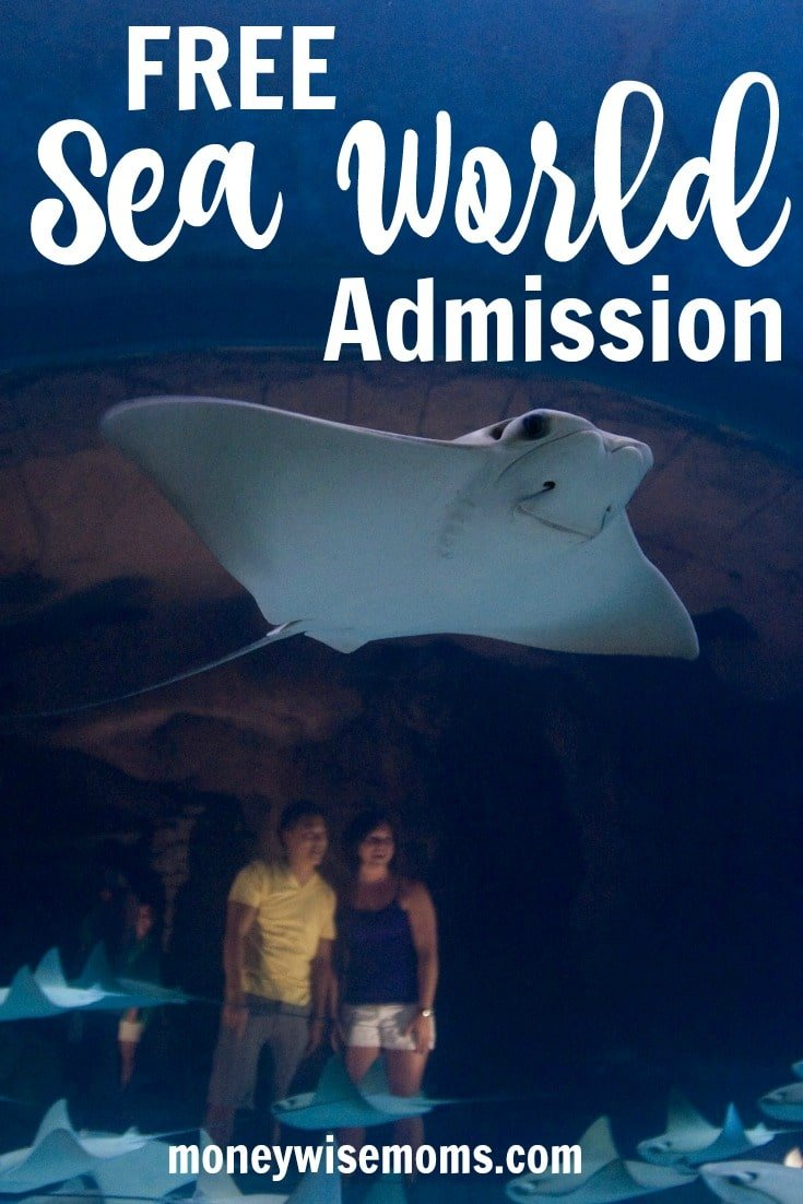 Learn how to get FREE Sea World Admission for your family travel. Offers for preschool kids, teachers and military families.