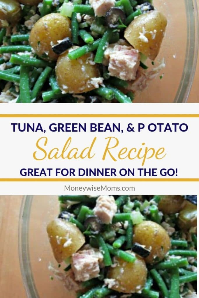 Pin for Tuna Green Bean Potato Salad Recipe