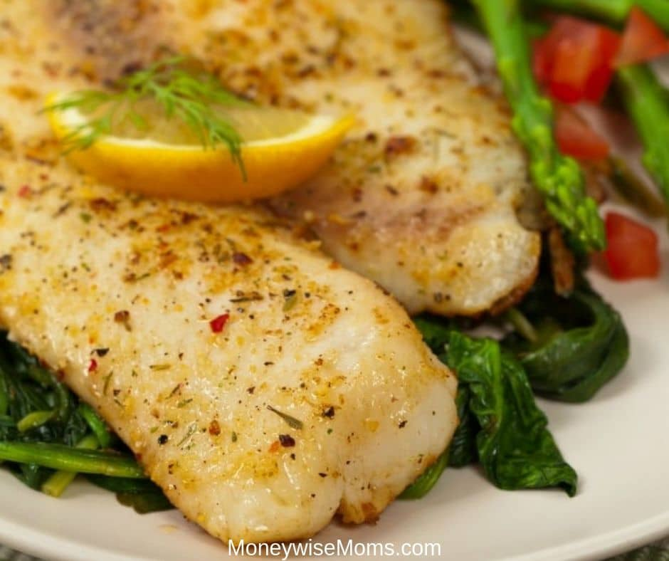 Easy Baked Tilapia 20 Minute Meal Moneywise Moms