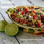 Southwest Quinoa Salad {Tasty Tuesdays}
