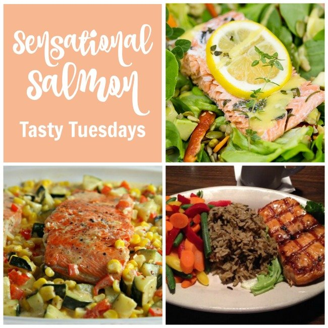 Sensational Salmon - fish recipes from Tasty Tuesdays Linky Party