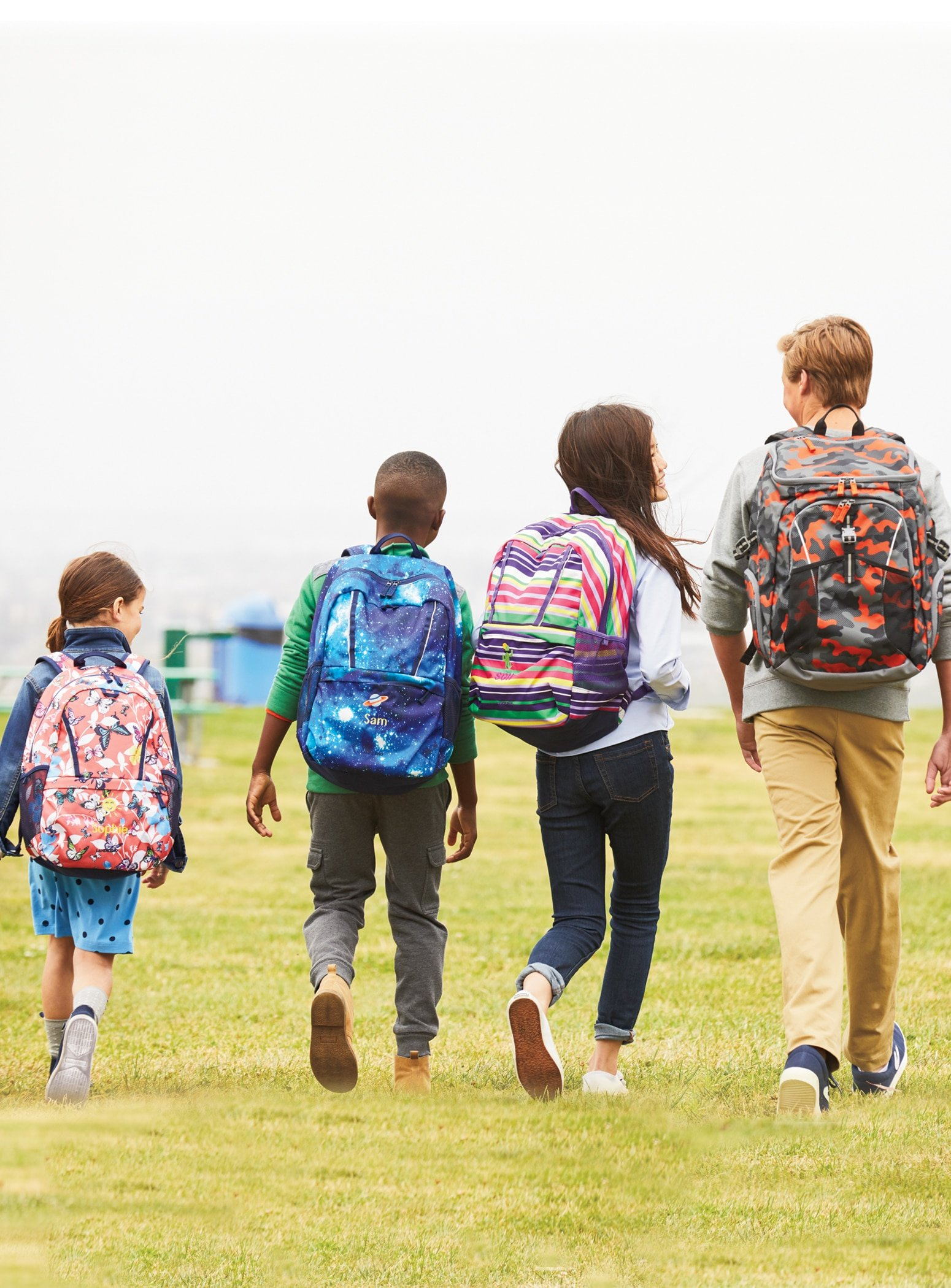 Back to School shopping at Lands End