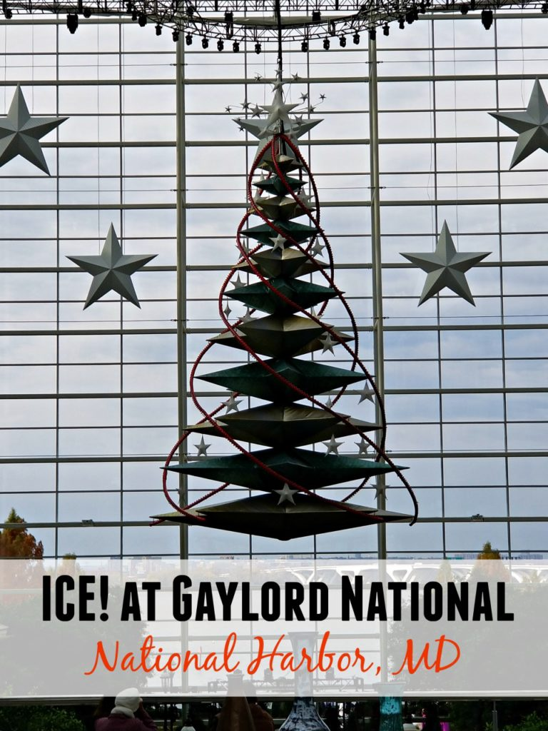 Christmas On The Potomac.All About Ice At Gaylord National 2017 Moneywise Moms