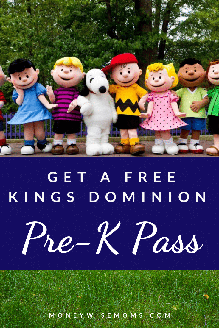 How to get a FREE Pre-K Pass to Kings Dominion Virginia