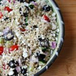 Vegetarian Greek Quinoa Salad
