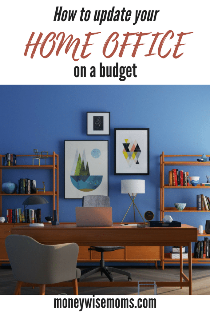 How to update your home office on a budget   create a fabulous new space for very little money!