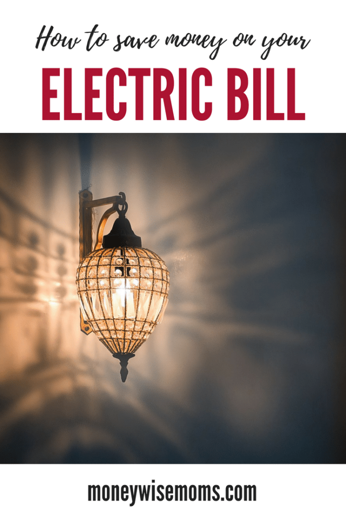 How to save on your electric bill - monthly budget