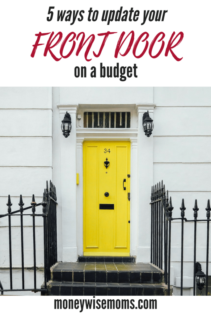 Skip the expensive replacement - try these 5 ways to update your front door on a budget