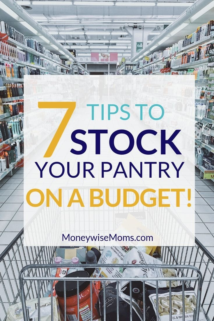 Saving money on groceries and household items makes a big difference to the monthly budget. Read on to learn tips to stock your pantry on a budget.