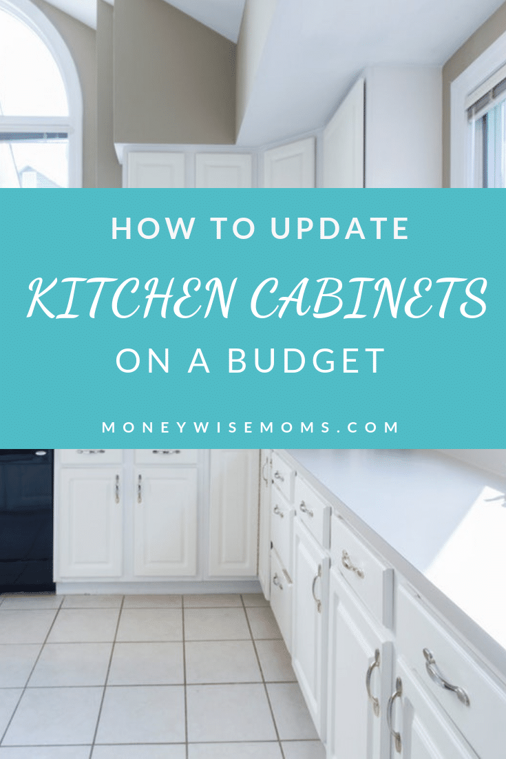 Ways to update kitchen cabinets on a budget