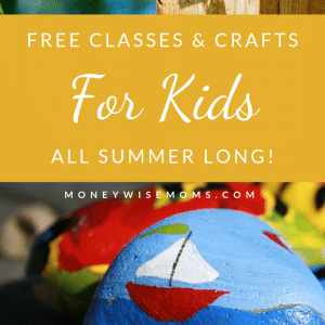 Free classes crafts workshops for kids all summer long