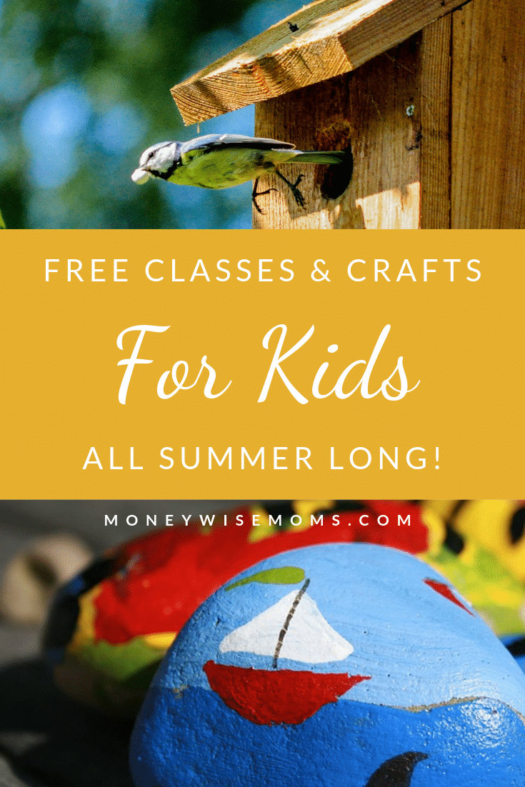 Summer classes and crafts for kids
