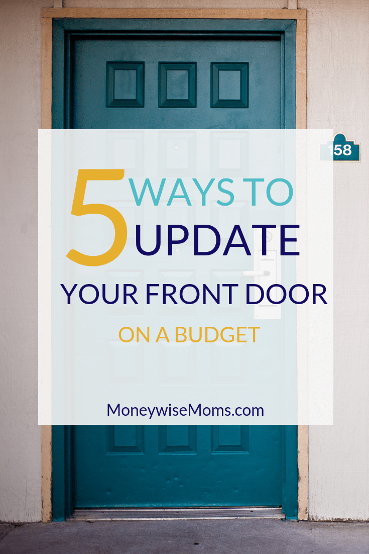 Update your front door on a budget - DIY home