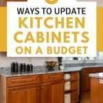 Frugal home improvement - tips to update kitchen cabinets on a budget