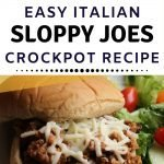 Slow Cooker Italian Sloppy Joes recipe - easy family meal crockpot