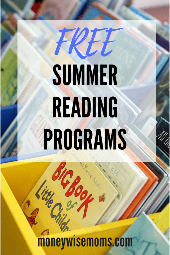 Free summer reading programs