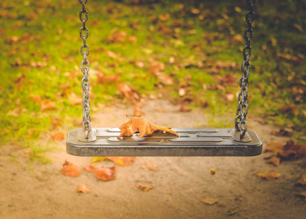 Ways to save on fall family fun - head out to a playground