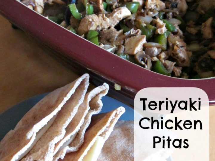 Teriyaki Chicken Pitas in the Deep Covered Baker