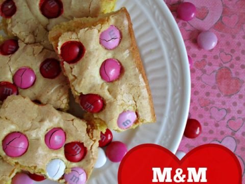 M&M Cake Mix Cookie Bars