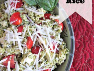 Italian Pesto Rice