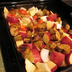 Sausage and Veggie Roast