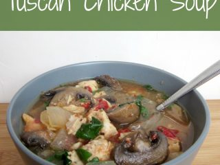 Slow Cooker Tuscan Chicken Soup