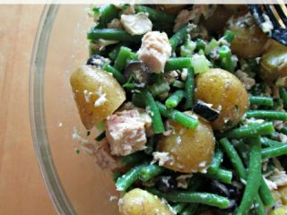 Tuna, Green Bean and Potato Salad